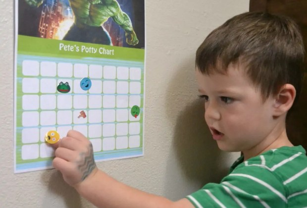 #1 Rule to Follow when Potty Training