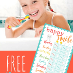 FREE PRINTABLE CHART FOR KID CAVITY FIGHTERS- Making Brushing Teeth FUN!