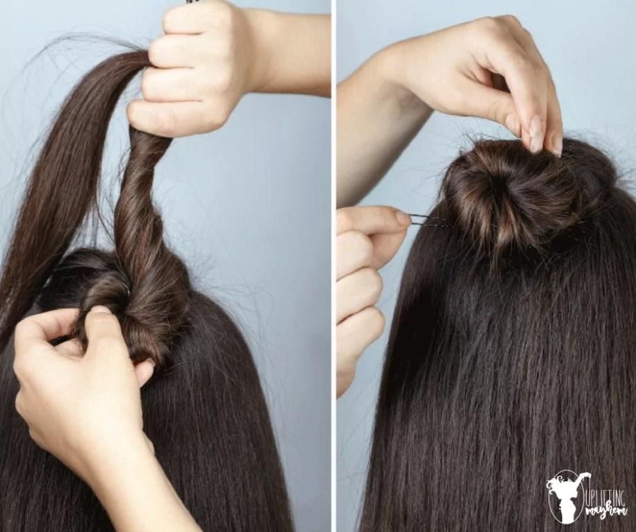 Easy Half Braid Hairstyle Tutorial