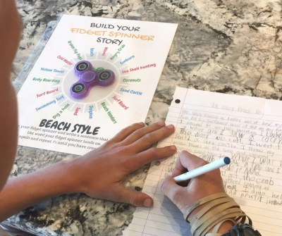 Creative Writing with your Fidget Spinner