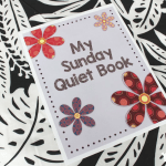 Free printable DIY Sunday Quiet Book