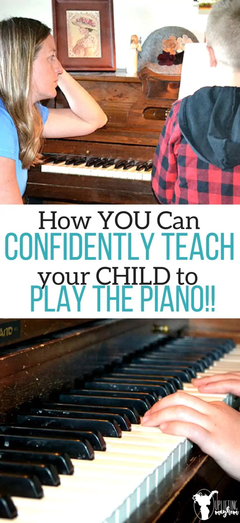 Confidently teach your child PIANO