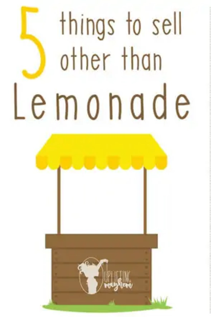 5 Things to sell other than Lemonade