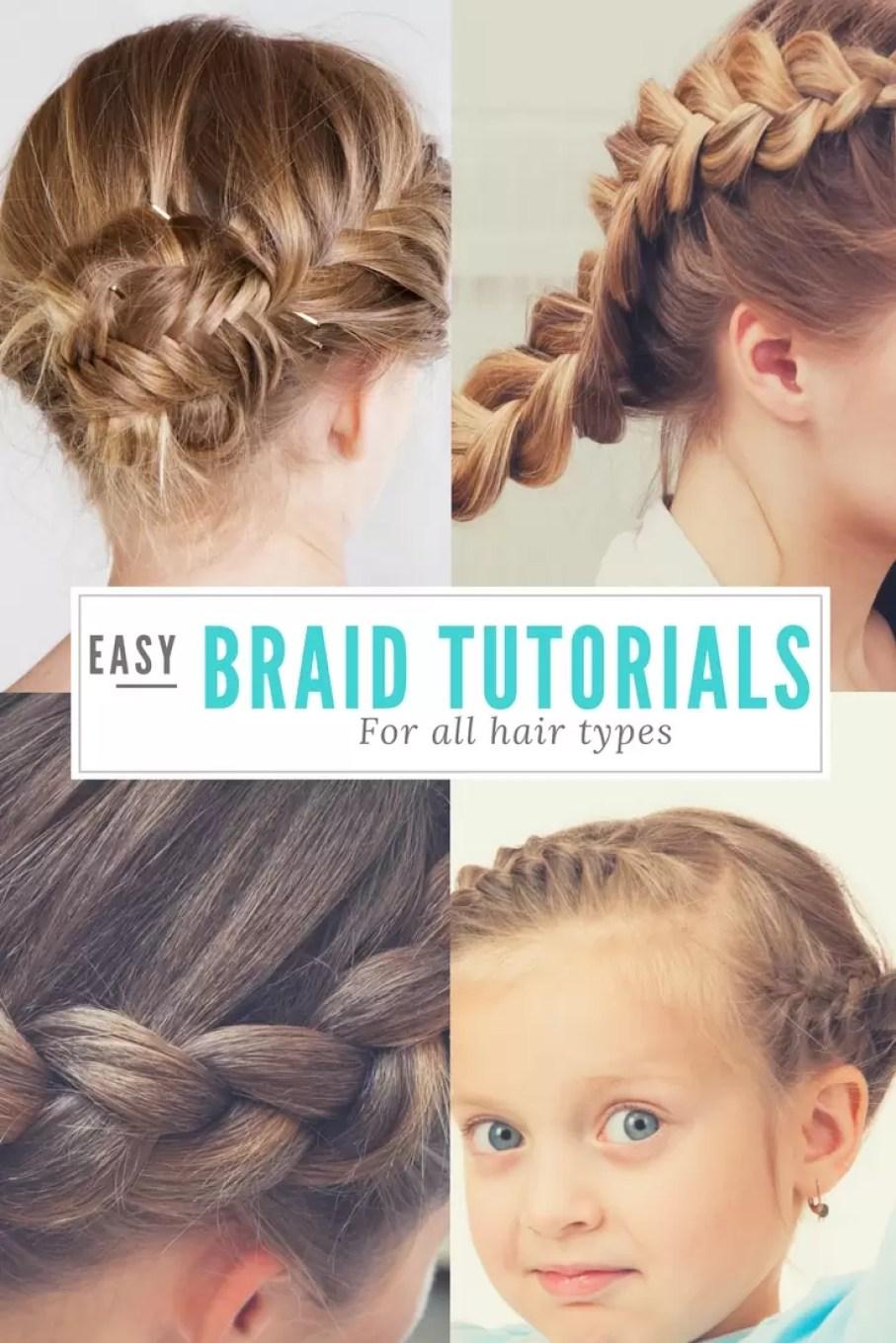 Braid Tutorials for little girls
