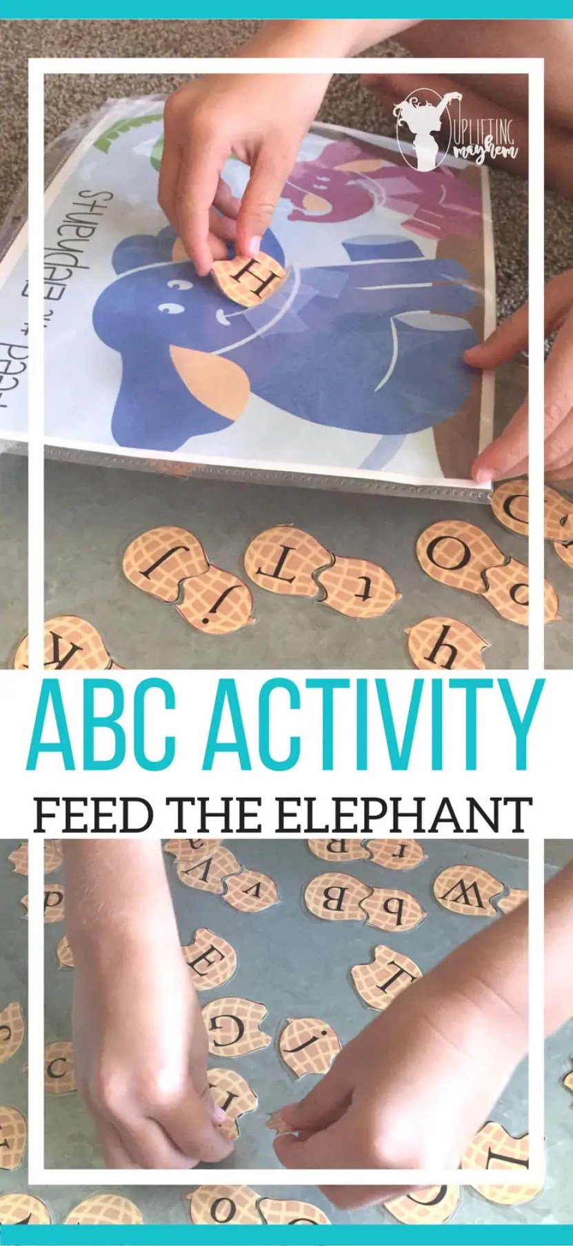 ABC Activity, Feed the Elephant