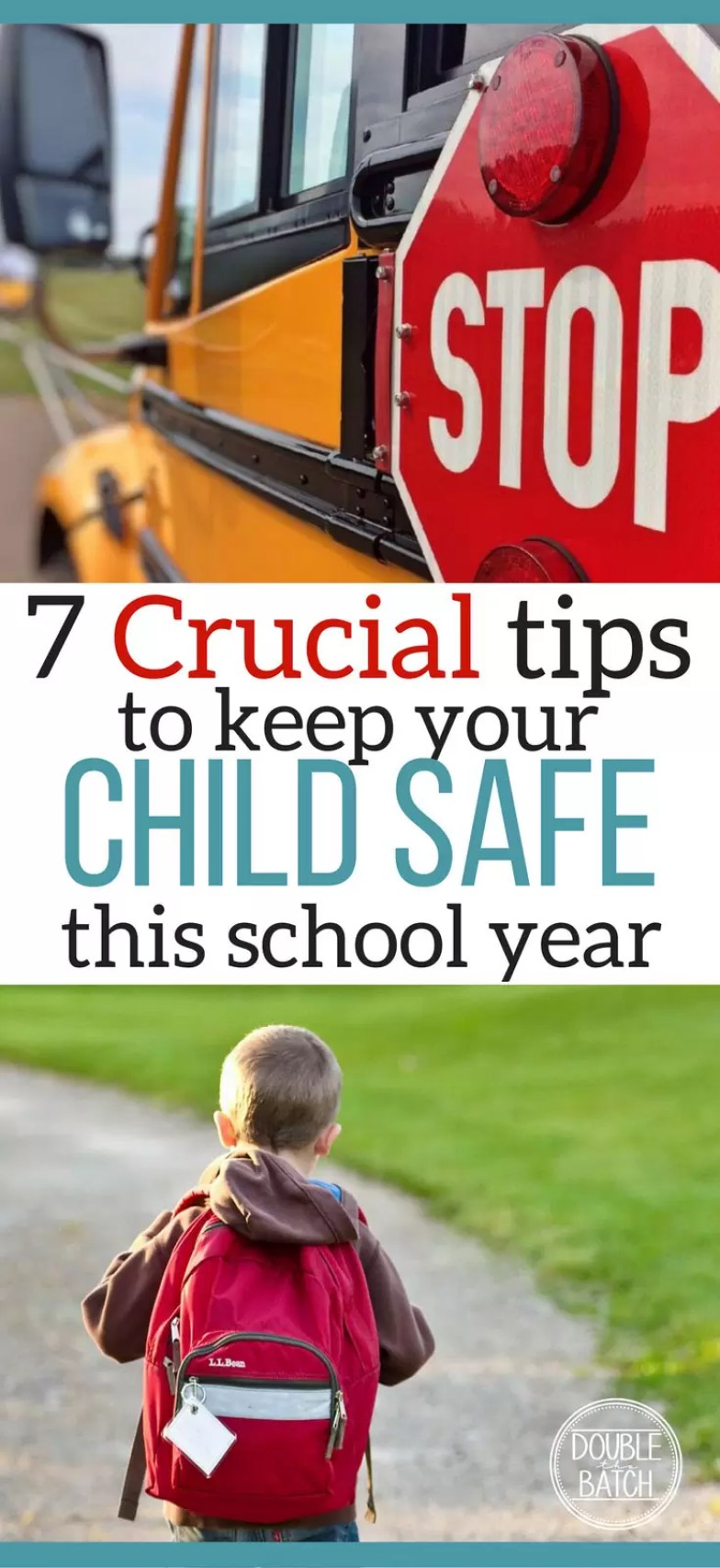 7 Crucial Tips to Keep your Child Safe this school year
