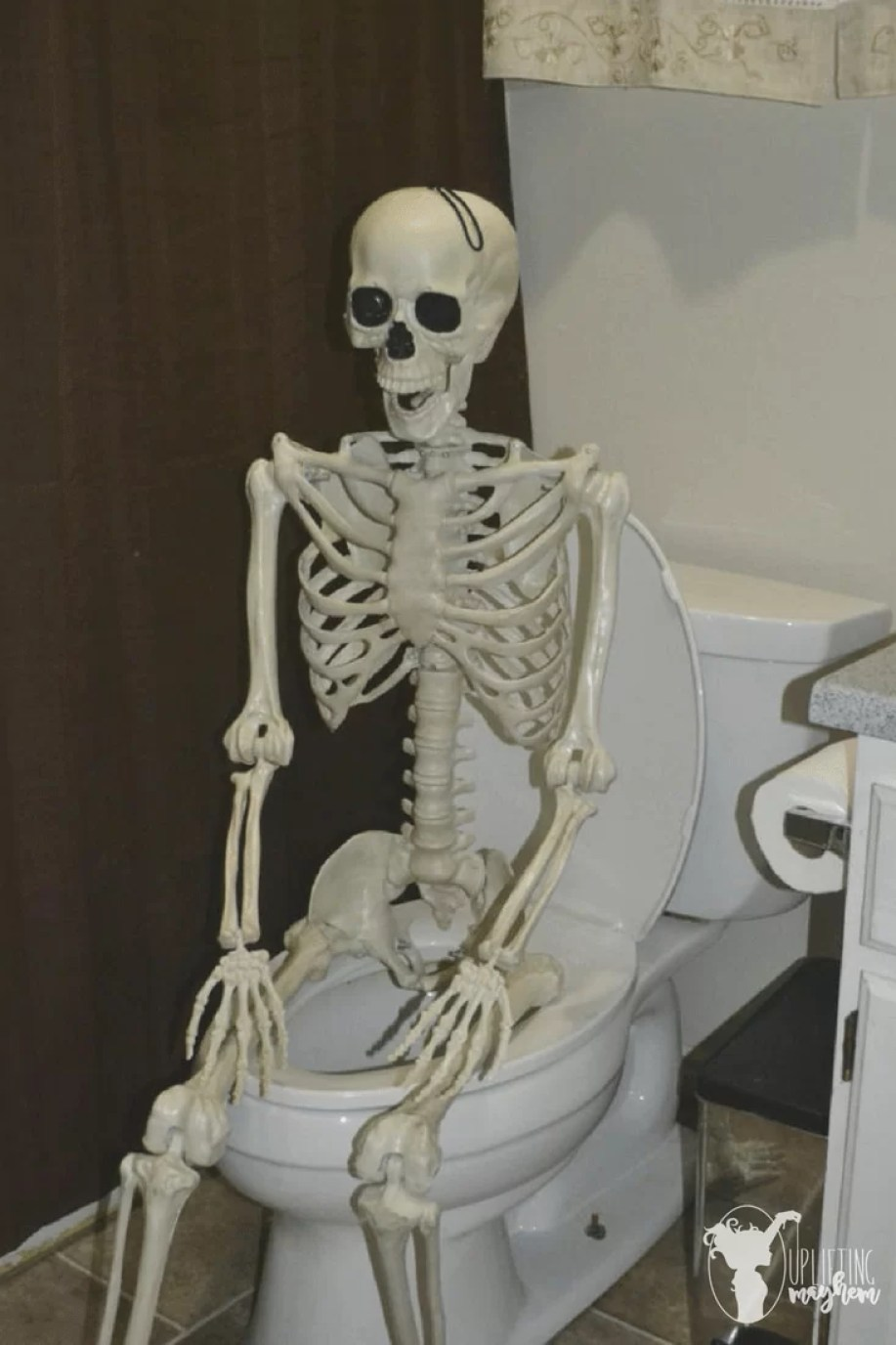 """Elf on the Shelf"" Skeleton"