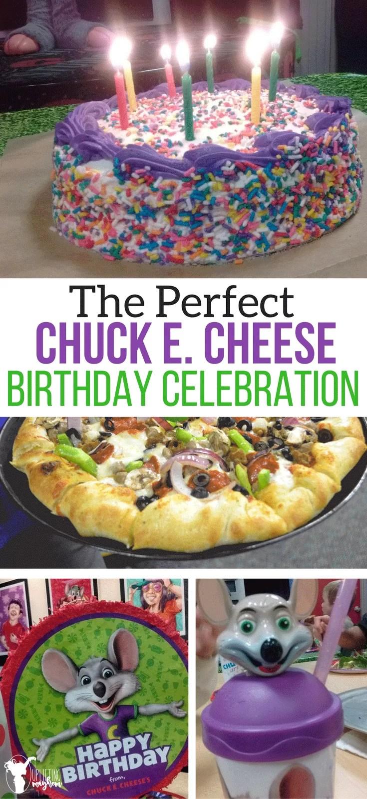 The Perfect Chuck E. Cheese Birthday Celebration