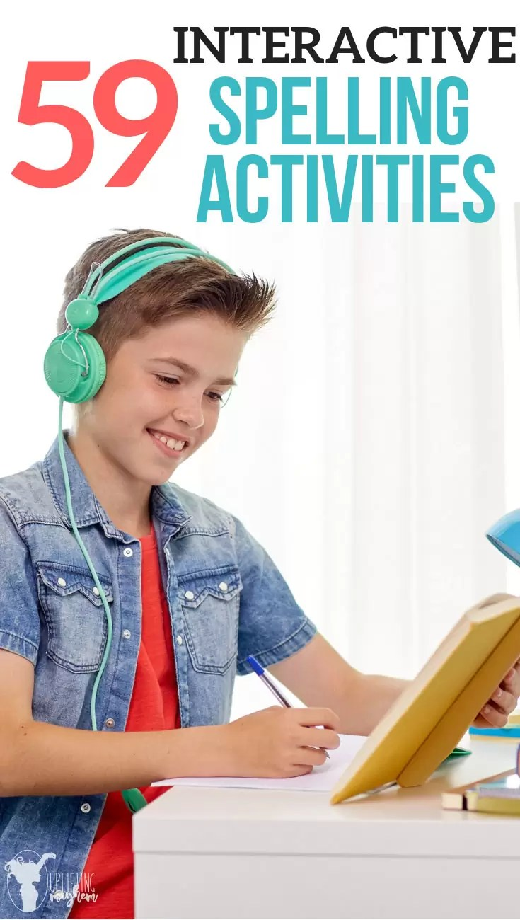 Spelling activities to keep your child having fun while learning their spelling words! Lots of active ways to learn spelling words and to master your spelling words