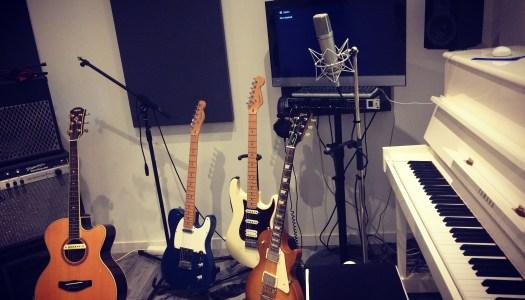 Enregistrement guitares