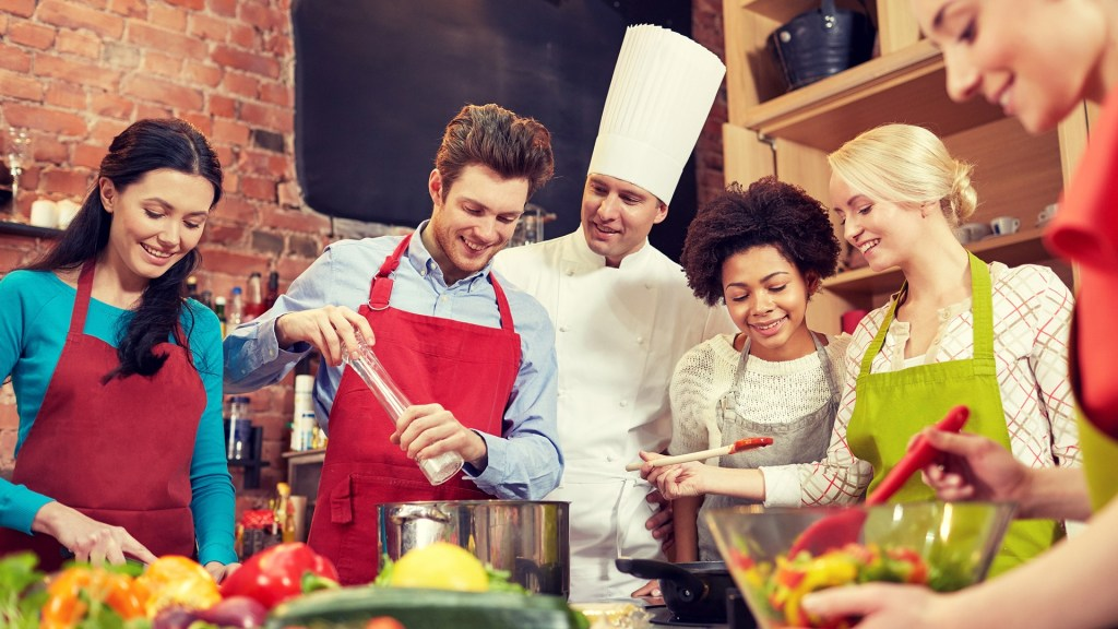Cook with your friends