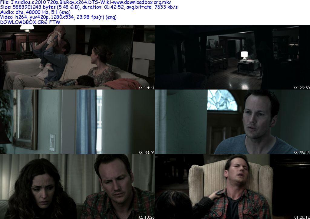 Insidious 2010 720p BluRay x264 DTS-WiKi