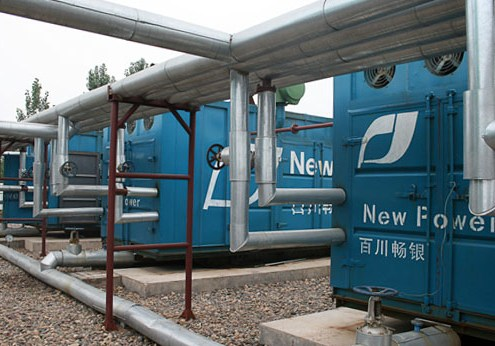 Jiyuan Landfill Gas CDM Project Gas Engines