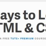 30 dias para aprender HTML e CSS – Tutorial premium do site TUTS+