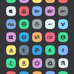 subtle social meida icons 600 150x150 - 350 ícones Android grátis para download!