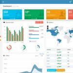 bootstrap admin theme 04 150x150 - Cleanfolio: Download grátis de Template Responsivo em HTML5