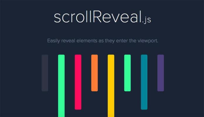 6 –scrollReveal