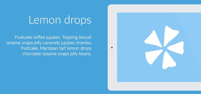 7 – On Scroll Effect Layout - Os 15 melhores Plugins jQuery para criar efeito Scroll Animado com CSS