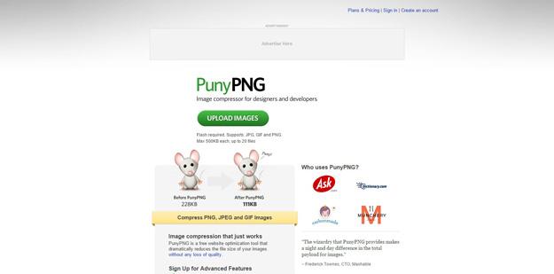 2 punnypng - 12 ferramentas para você compactar suas imagens e reduzir o tamanho em até 80%