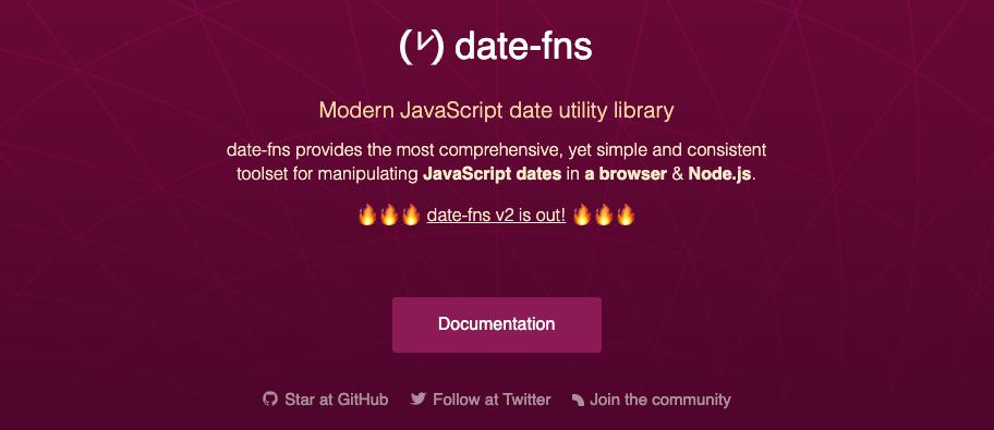 date fns - 7 bibliotecas para trabalhar com data em JavaScript