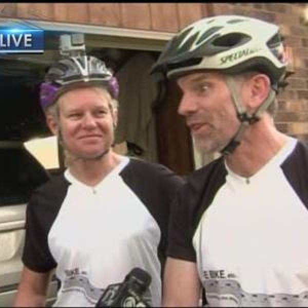 Couple to complete 600 mile bike ride across Wisconsin_-3346236173367686473