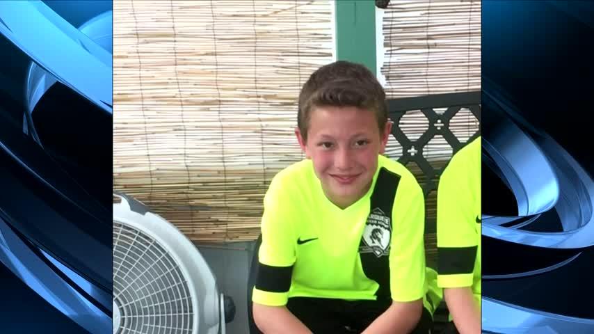 Saying goodbye to 11-year old Tysen Benz_73043397
