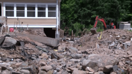Houghton County flood.4