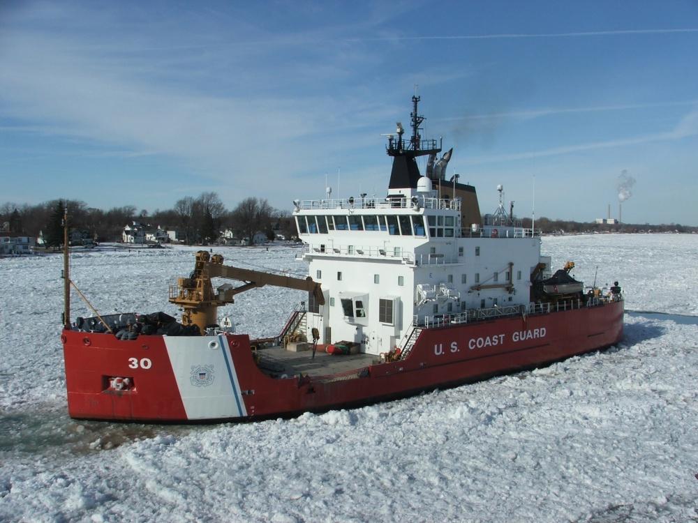 Icebreaking operation