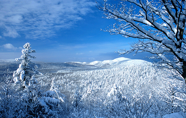 Winter in the Porcupine Mountains