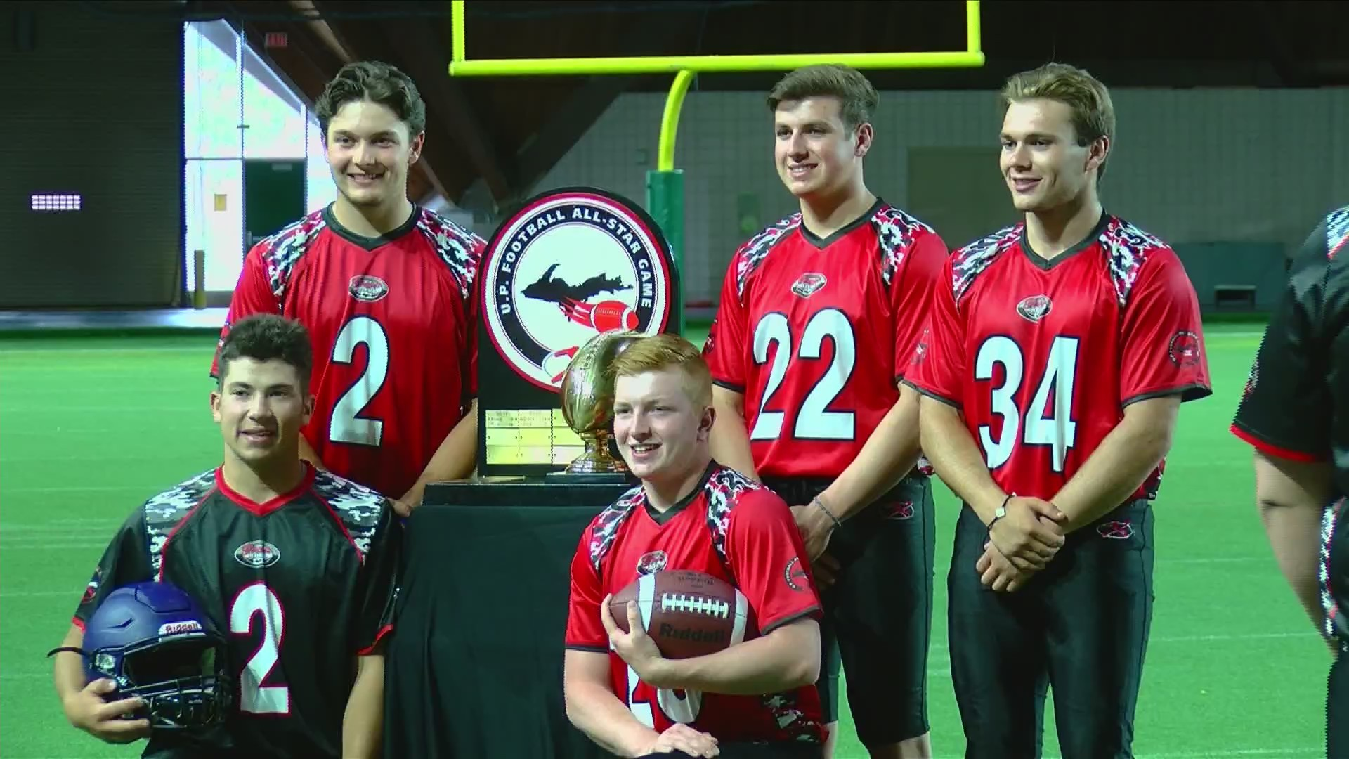 U.P. All-Stars hold media day, talk about busy week on and off the field