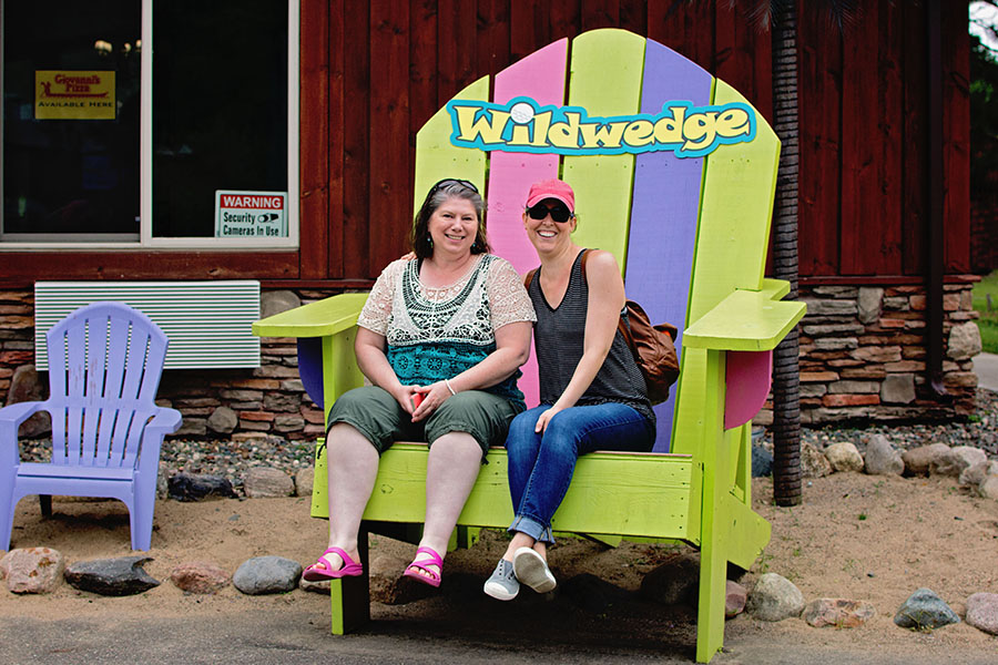 Wildwedge Mini Golf | Up North Parent