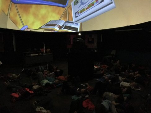 Forestview Planetarium at Forestview Middle School in Baxter
