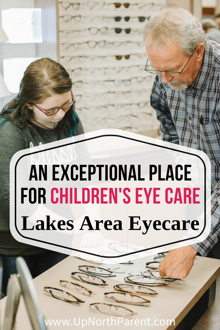 Lakes Area Eyecare of Baxter is An Exceptional Place for Children's Eye Care and a great place to be proactive about your child's eye health. Plus an explanation of the InfantSee program and why babies need to have an eye exam!