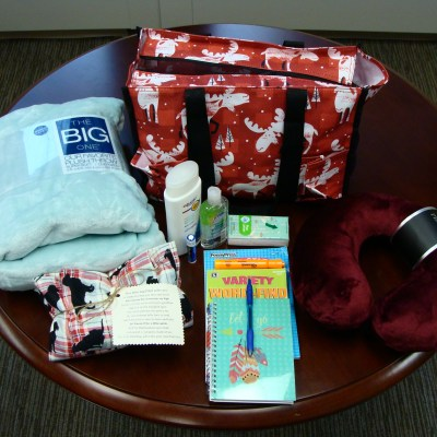 The Donation of Cancer Comfort Bags Help Patients at Essentia Health