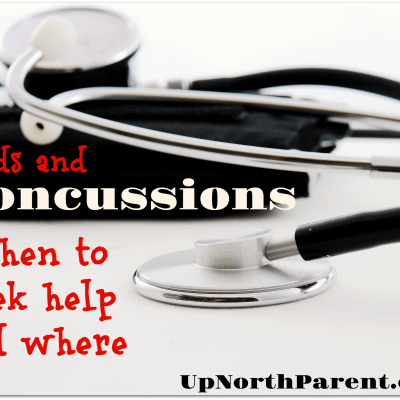 How do you know if a child has a concussion?