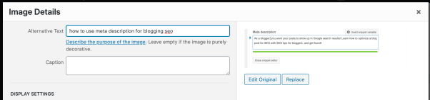 how to use image alt text to improve your blog post seo