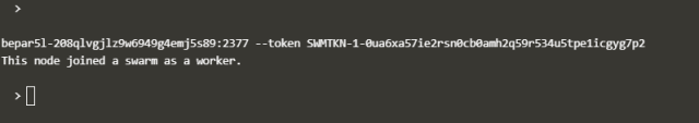 Add Nodes to the Swarm Cluster