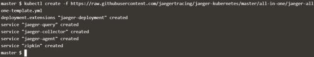 Jaeger Template deployment