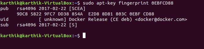 Verify key