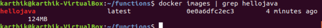 Post build complete,you can see Docker image