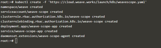 Install Weave Scope on Kubernetes cluster