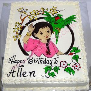 Birthday Mina Cartoon Cake In Bangladesh Mina Cartoon
