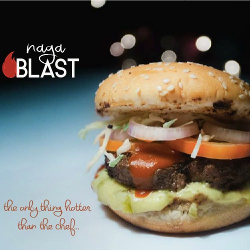 Best Burger In Dhaka Naga Blast From MadChef Kebab