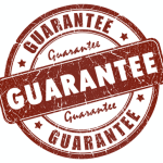 Be wary of guarantees