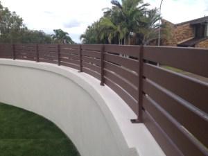 Aluminium Slat fencing sunnybank