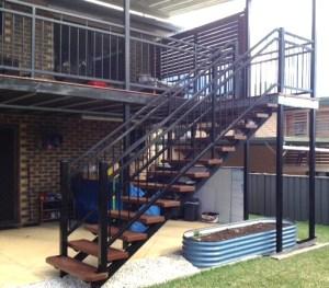 Aluminium Stair Balustrade