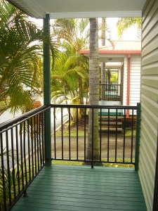Aluminium balcony balustrade brisbane