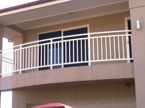 Aluminium balustrade