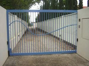 Aluminium swing gate brisbane