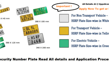 Apply For HIGH SECURITY NUMBER PLATE